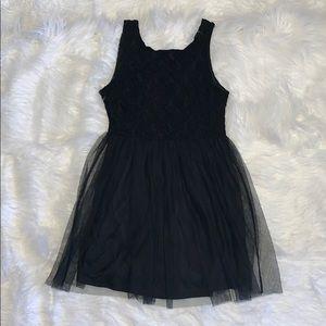 Finn & Clover Black Lace Dress